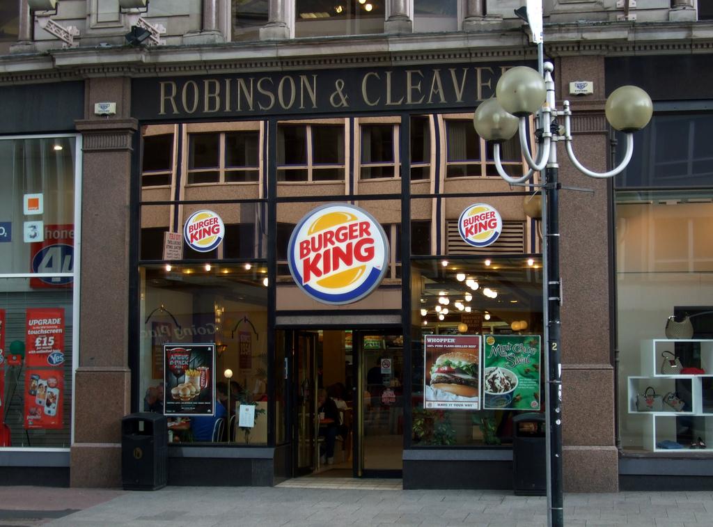 burger king belfast
